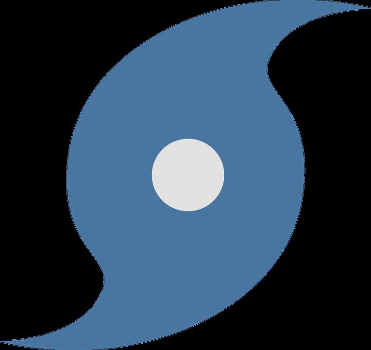 graphic of symbol representing hurricane